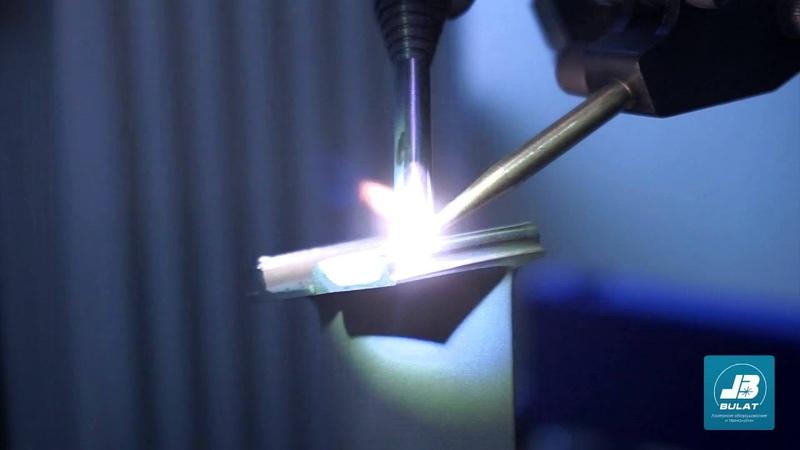 Лазерная наплавка - Ремонт лопаток авиационных двигателей в автоматическом режиме [OKB BULAT]