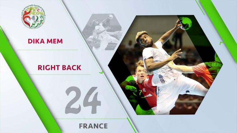 Dika Mem (FRA) - All-star right back   IHFtv - Algeria 2017 Mens Junior WCh