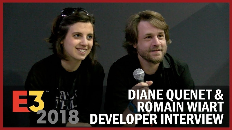Diane Quenet Romain Wiart from Cyanide Studio Give an Overview of Call of Cthulhu- USC at E3 2018