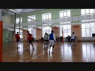 Матчевая встреча по волейболу депутатов Госсовета УР и команды депутатов северного куста УР