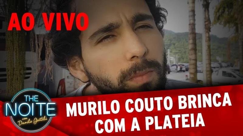 Murilo zoa a plateia do programa | The Noite Ao Vivo (07/11/2016)