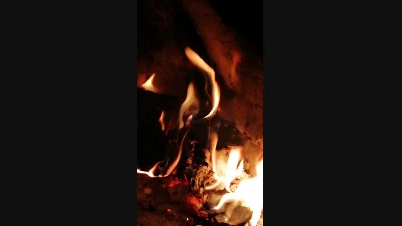 Дровянная печь ❤️🤗