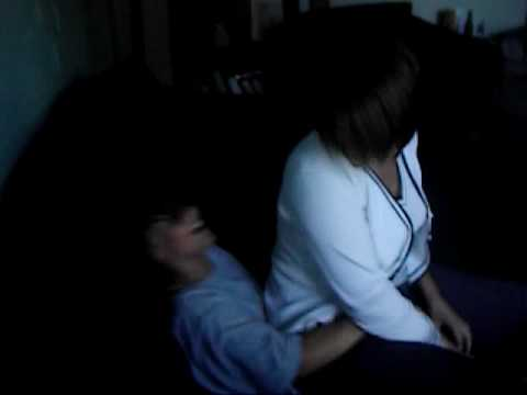 Little boy gets trampled by his mom
