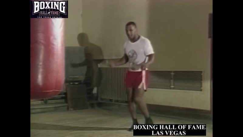 Iron Mike Tyson training