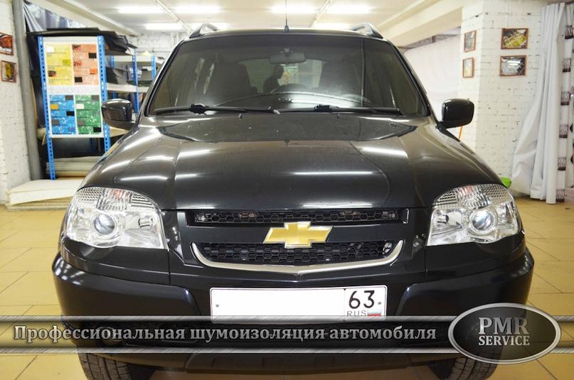 Шумоизоляция Chevrolet Niva, изображение №2