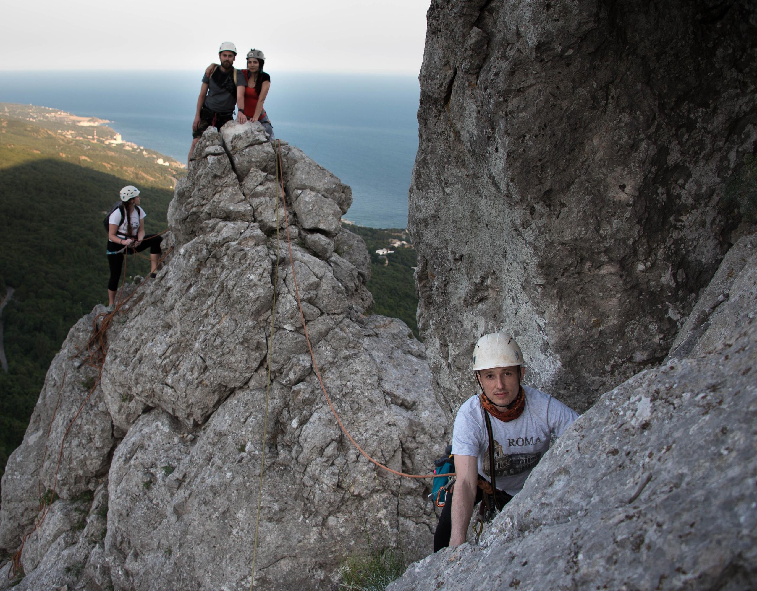 Альпинизм в Крыму с гидом