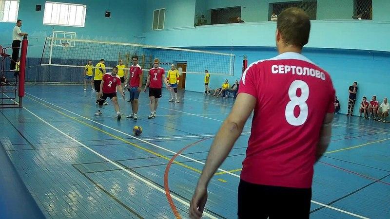 Сертолово - Кингисепп 30(партия 1) Финал Чемпионата ЛО по волейболу 2 группа Колпино