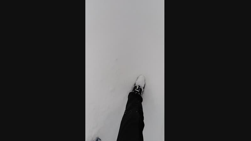 Снег в ишуни