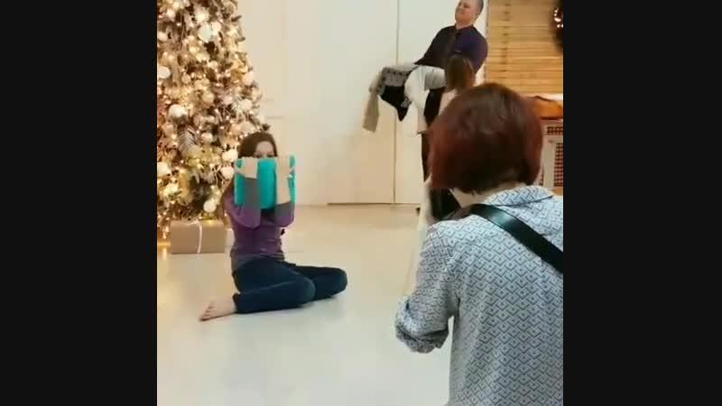 8го февраля я рассказывала вам, как снимала Ксюшу и ее семью трех замечательных дочек Смотрим в