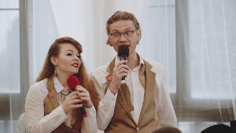 Дуэт ведущих ЕМ Елена Праздникова и Максим Тихонов