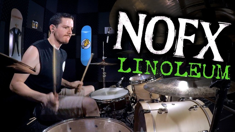'NOFX Linoleum' Played Faster Drum Cover Kye Smith