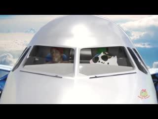 Flex air - рикардо флексит в самолёте