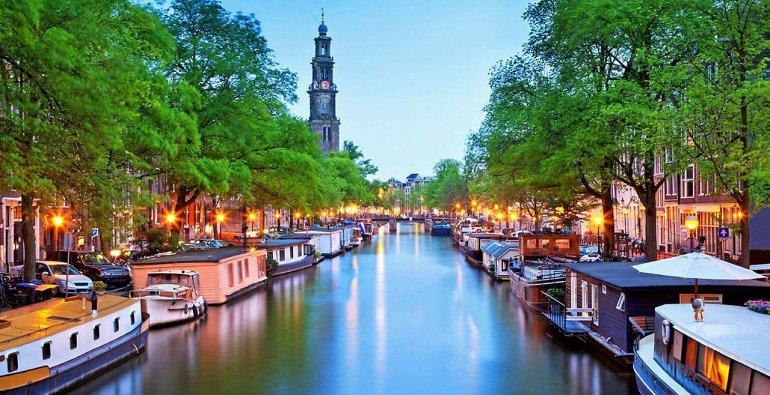 Амстердам. Каналы северной Венеции, изображение №1