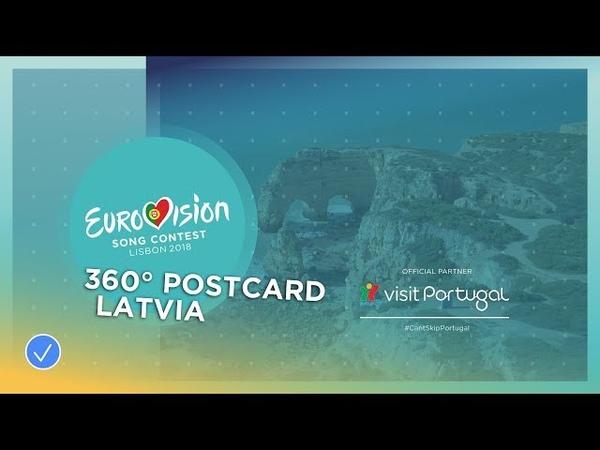 360 Benagil – Laura Rizzotto's Postcard Eurovision 2018