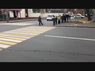 Новый способ переходить дорогу