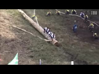 The best of japanese log riding