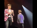 Namjoon accidentally drinking from jinmin's vodka bottle thinking it was water