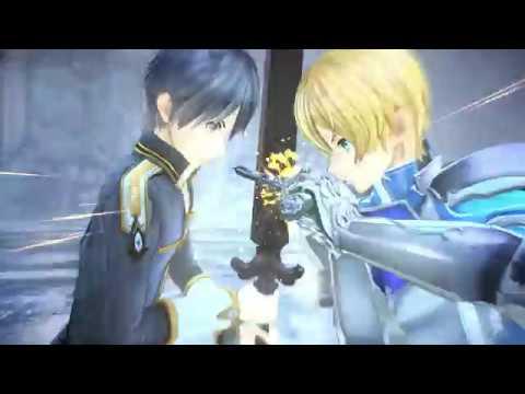 Sword Art Online Alicization Lycoris Kirito vs Eugeo Gameplay
