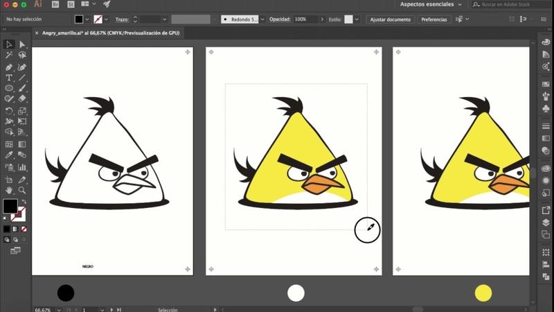 Cómo hacer separación de colores planos para serigrafía en Illustrator CC 2017