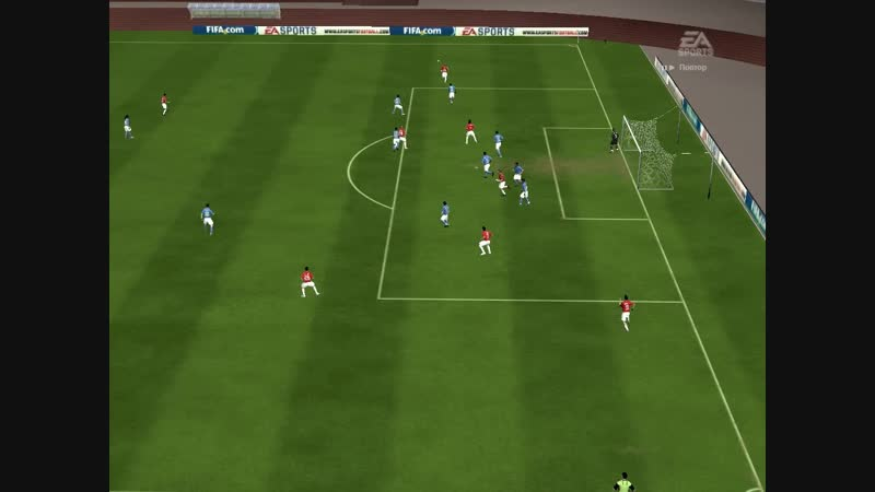 Футбол FIFA 10 супер гол Форлана football Forlan best goal
