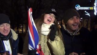 Русские болельщики без ума от Льюиса Хэмилтона