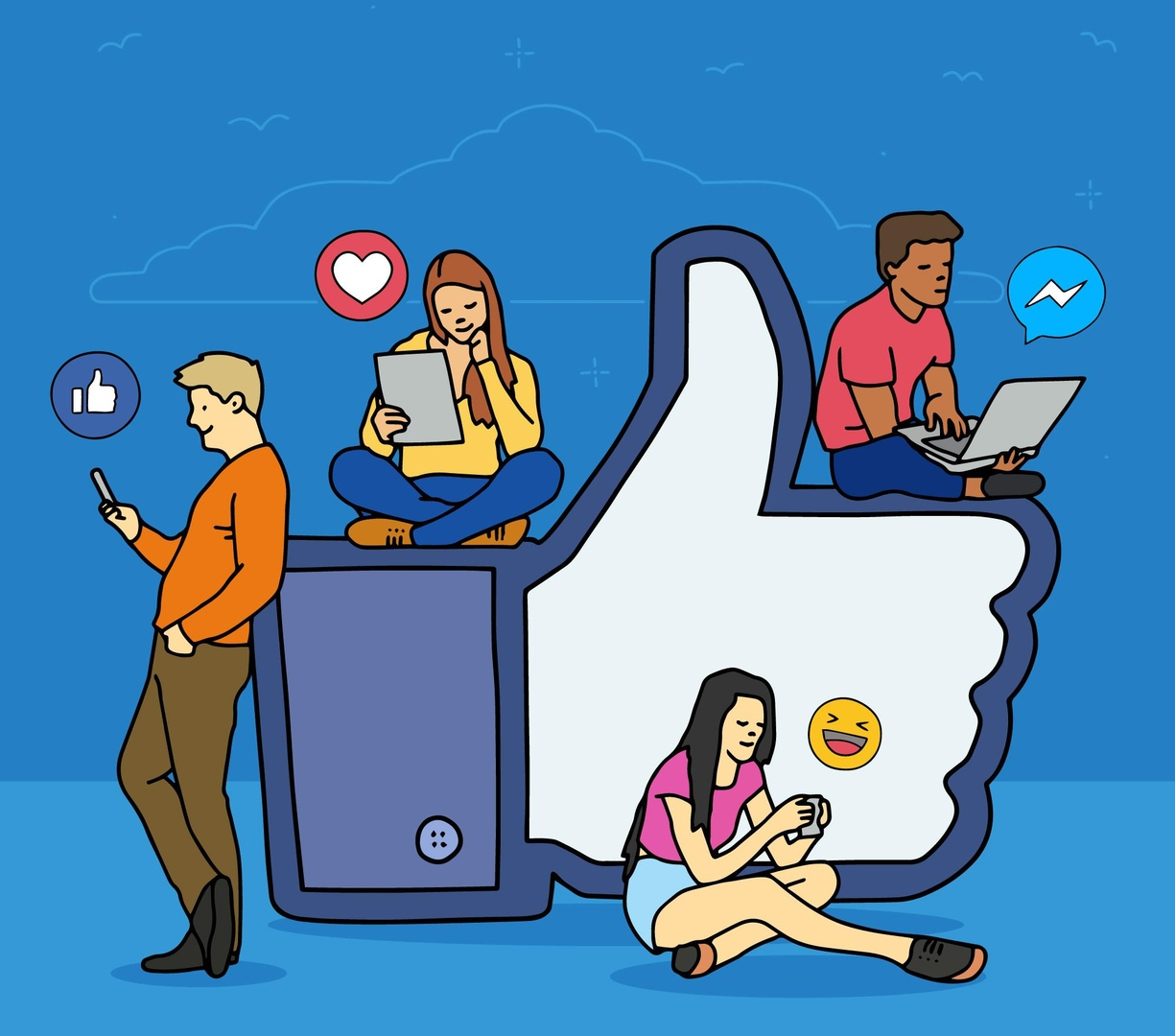 How does social media affect our lives