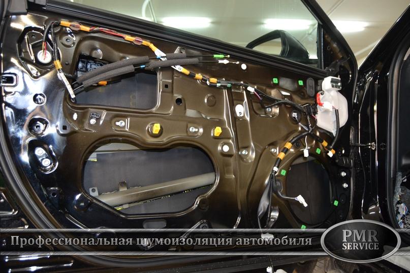 Комплексная шумоизоляция Toyota Camry, изображение №17