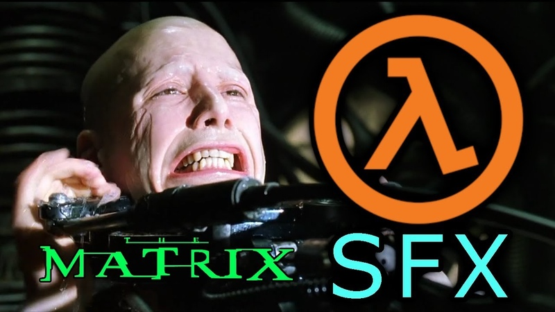 The Matrix Dubbed with Half Life SFX