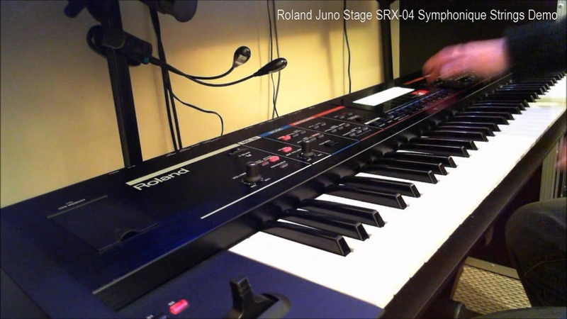 Roland Juno Stage SRX-04 Symphonique Strings