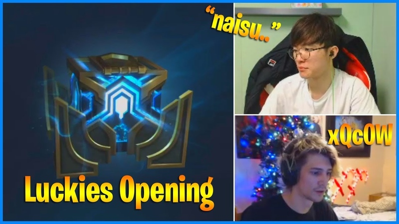 Faker Luckiest Hextech Chest Opening | When xQcOW Plays League | LoL Daily Moments Ep 305