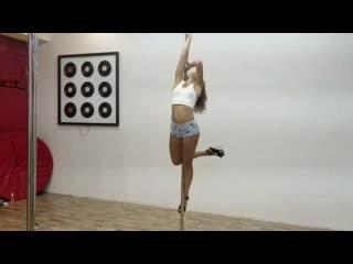 Valentina/Pole dance/Air silks   E-Study-On, 2019