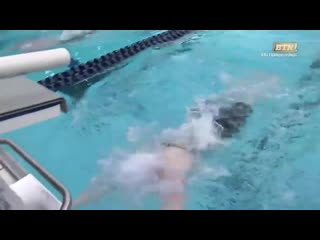 Flashback lilly king breaks big ten record in 200m breaststroke online video cutter com