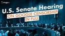 Dennis Prager and Google VP Testify Before the U S Senate on Tech Censorship