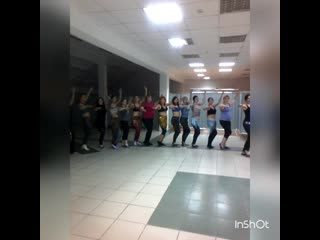 Совместный урок по ATS. Восточный танец г.Таганрог