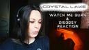CRYSTAL LAKE - WATCH ME BURN DISOBEY REACTION | slaveformusic