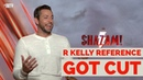 SHAZAM! INTERVIEWS | R. Kelly Reference Was Cut!