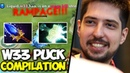 W33 Puck Epic Compilation Rampage with Scepter Build Dota 2