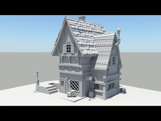 Autodesk Maya 2014 Tutorial Old House Modeling Part 4