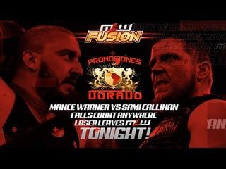 MLW Fusion Episode 62 presented by Salina de la Renta Flamita vs. Horus, Callihan vs. Warner