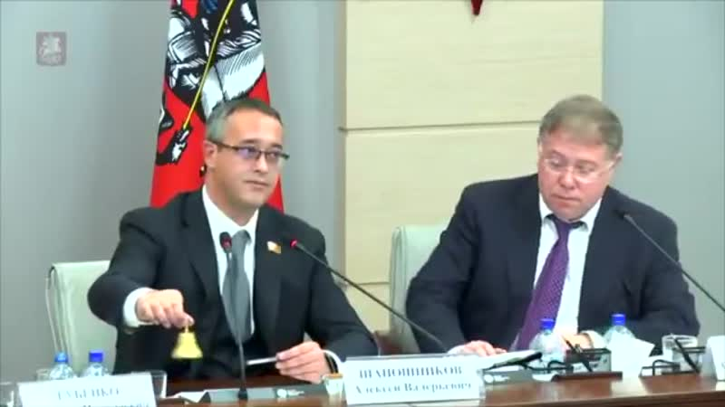 Председатель Мосгордумы: «Суки,сколько за,сколько против,сколько воздержались? Меня не еёт пофамильно сейчас. Вы чё,ебанутые?»