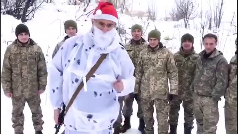 40 Окрема артилерійська бригада ЗС України вітає усіх з Різдвом