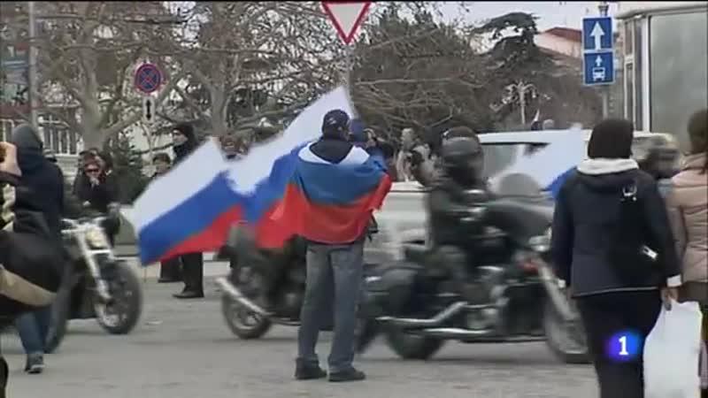 Anexión de Crimea y Sebastopol a Rusia Guerra Sionista
