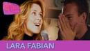 Lara Fabian au vernissage d'un fan photographe - Stars à domicile