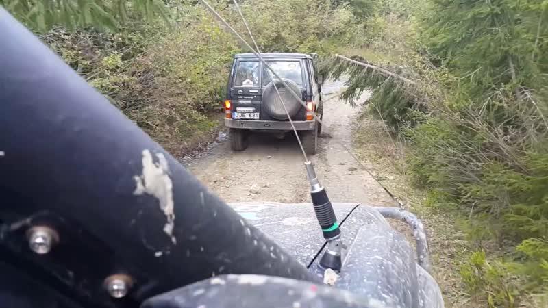 Off-road - 264 Крутой спуск по камнях (Land Cruiser 70 LX, 4Runner, Patrol, Land Cruiser 80)