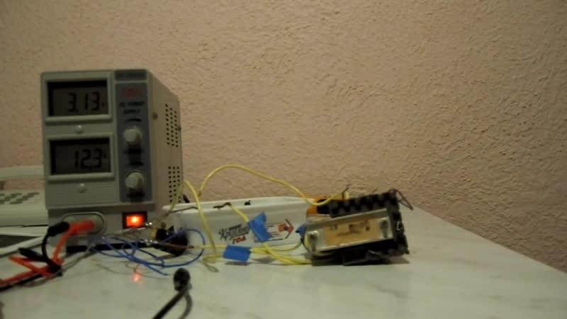 Высоковольтный генератор на строчнике ТВС 110ПЦ15