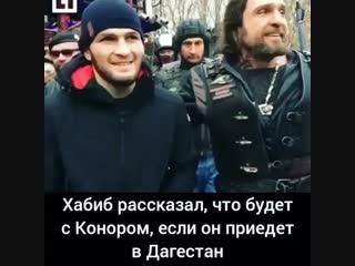 А вы бы хотели видеть Конора в Дагестане