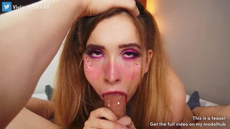 Pov Sloppy Blowjob Facial