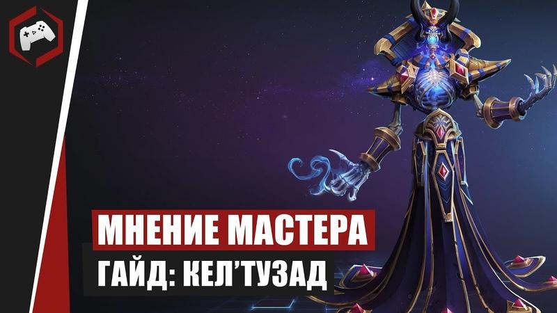 МНЕНИЕ МАСТЕРА Milosh Гайд Кел'Тузад Heroes of the Storm