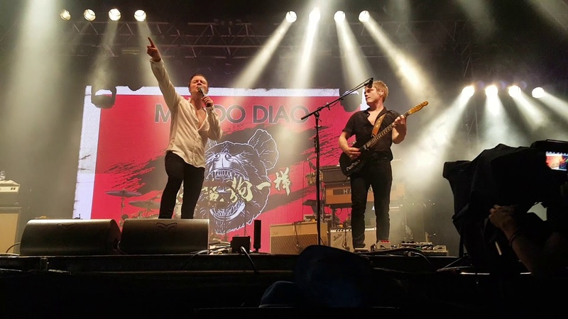 Hit Me With A Bottle Mando Diao live at Heitere Open Air 09 08 2019
