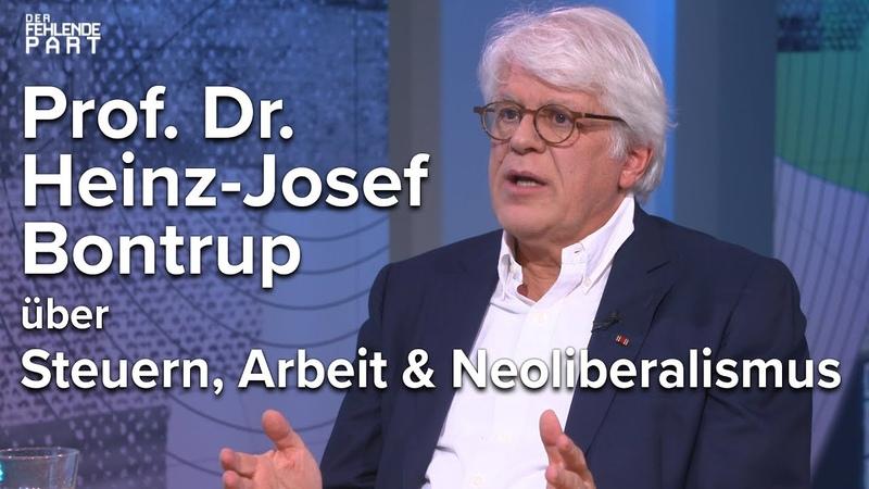 Der Markt regelt gar nichts Prof Heinz Josef Bontrup im Gespräch